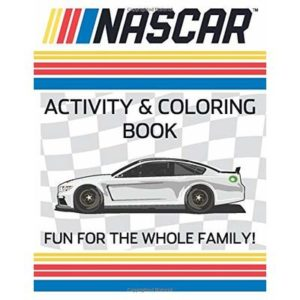 NASCAR Activity and Coloring Book: NASCAR Activity and Coloring Book (Sports Activity Books)