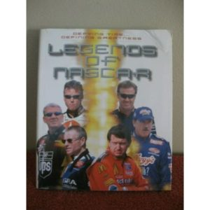 LEGENDS OF NASCAR HARDCOVER BOOK WITH DJ DUST JACKET DATED 2003