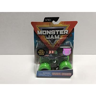 Grave Digger Monster Truck MONSTER JAM Authentic 2019 Spin Master 1/64 scale