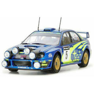 24250 TAMIYA  IMPREZA 2001 GB RALLY PLASTIC KIT 1/24 CAR TOY