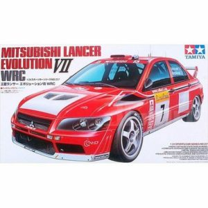 Tamiya 24257 1/24 Lancer Evolution VII Evo7 Rally Car Assembly Scale Car Model