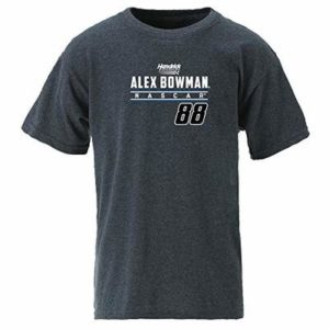 NASCAR Hendrick Motorsports Alex Bowman Youth Ouray S/S TYouth Ouray S/S T, Graphite, Large
