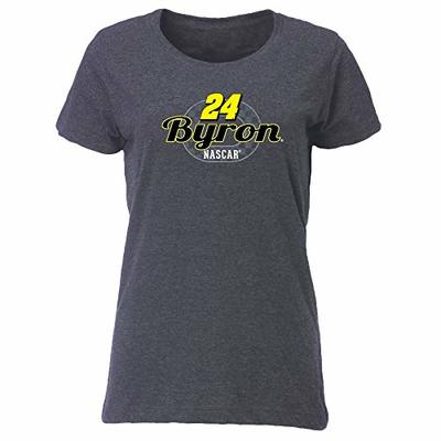 Ouray Sportswear NASCAR Women's Vintage Blend Relaxed Fit Tee William Byron, Vintage Navy, Medium