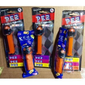 5 NASCAR Home depot helmet PEZ Dispensers