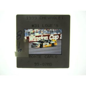 NASCAR MIKE SKINNER CHEVROLET MONTE CARLO #31 – PRESS SLIDES – 1999