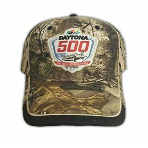 The Game NASCAR 2019 Daytona 500 Camouflage Adult Hat Adj