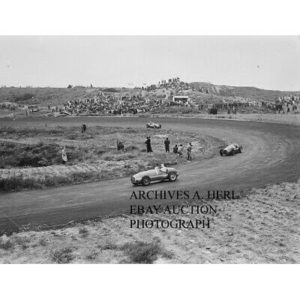 Ferrari Formula One Luigi Villoresi 1949 Dutch Grand Prix Zandvoort racing photo