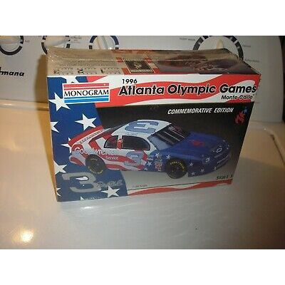 1/24 Dale Earnhardt #3 Goodwrench Atlanta Olympic Games Chevy Monte Carlo Sealed