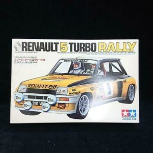 TAMIYA 1/24 Renault 5 Turbo Rally Specifications Japan