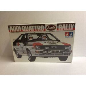 Tamiya 1/24 Audi Quattro Rally Kit # 2436/Vintage 1983/Sealed