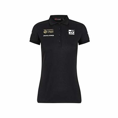 Rich Energy Haas 2019 F1 Women's Team Polo Black (XL)