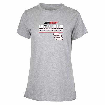 Ouray Sportswear NASCAR Women's W Ouray S/S T Richard Childress Racing, Heather, Large