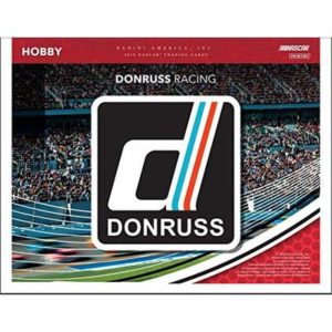 2019 Panini Donruss NASCAR Racing Hobby Box – 3 Auto or Mem Per Box!