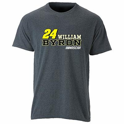 Ouray Sportswear NASCAR Ouray S/S Tee William Byron, Graphite/Bold, Small