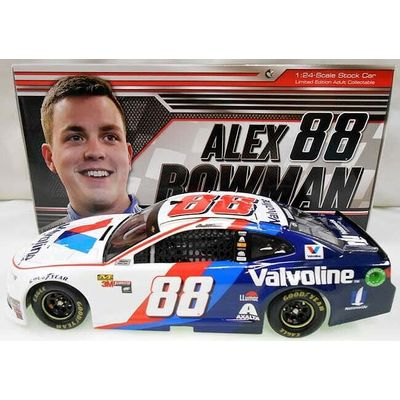 ALEX BOWMAN 2018 VALVOLINE 1/24 COLLECTOR ACTION