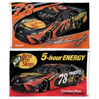 NASCAR Driver 3×5 2-Sided Flag with 2018 Graphics (Martin Truex Jr)