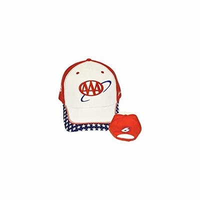 Mark Martin NASCAR AAA #6 Red White and Blue Team Adjustable Cap