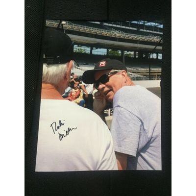 Robin Miller Signed 8 X 10 Photo Autographed Indianapolis 500 Indy Car