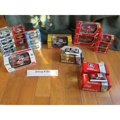 Collection Of Rare Diecast Winston / NASCAR Cup Racing-20 Items All Mint Lot #6