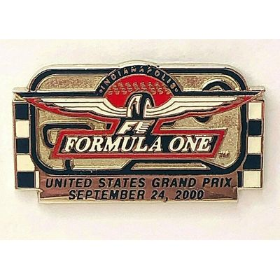 Formula One United States Grand Prix September 24, 2000 Hat Pin