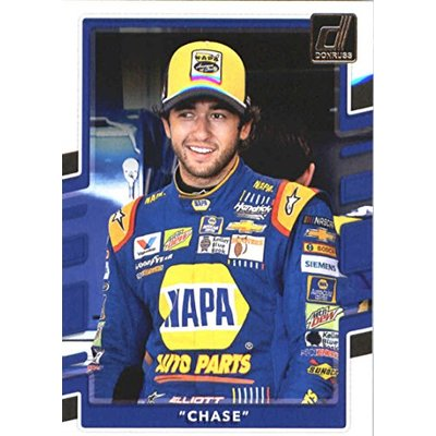 2018 Donruss Racing Variation #37 Chase Elliott Chase Official NASCAR Trading Card Produced by Panini America