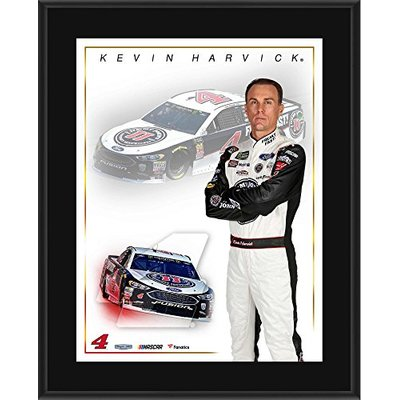 Kevin Harvick 10.5″ x 13″ 2018 Jimmy John's Sublimated Plaque – NASCAR Driver Plaques and Collages