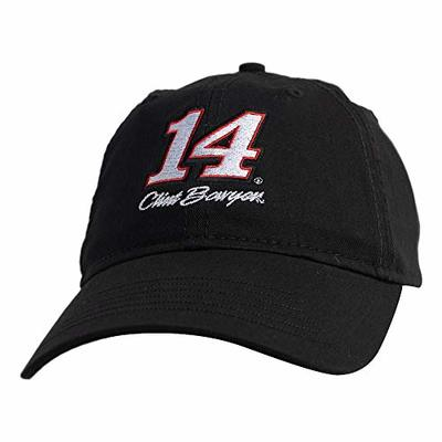 Ouray Sportswear NASCAR Unisex-Adult Epic Washed Twill Cap Clint Bowyer, Black, Adjustable
