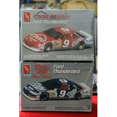 Lot Of ( 2 ) CLASSIC NASCAR Model kits FACTORY SEALED GOOD BOXES 1/25