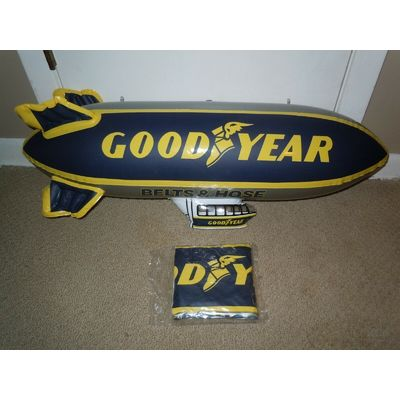NEW 30″ GOODYEAR Inflatable BLIMP NASCAR Sprint Cup Airship Dirigible Zeppelin