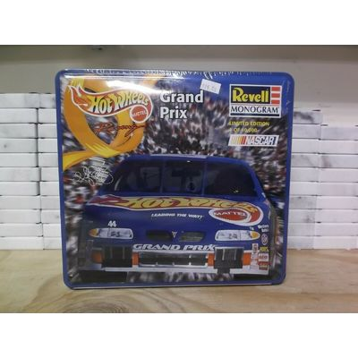 REVELL HOT WHEELS 1997 KYLE PETTY GRAND PRIX W/METAL TIN 1:25  FACTORY SEALED