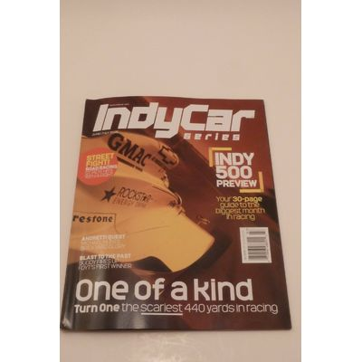 INDYCAR SERIES Magazine June/July 2005 Featuring INDY 500 Preview