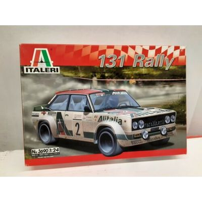 Italeri 1/24 Scale 131 Rally Model #3690 Model Year 2004