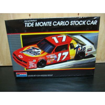 Monogram 1987 Darrell Waltrip Tide Monte Carlo Stock Car FACTORY SEALED