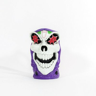Monster Jam GRAVE DIGGER Red and Purple Drink Mug Cup Stein Halloween