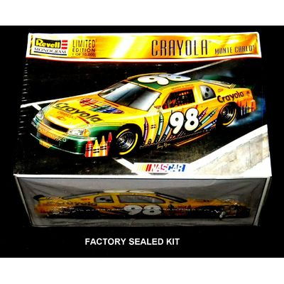 REVELL/MONOGRAM 1:24 scale 98 CRAYOLA MONTE CARLO # 85-4141 Factory Sealed