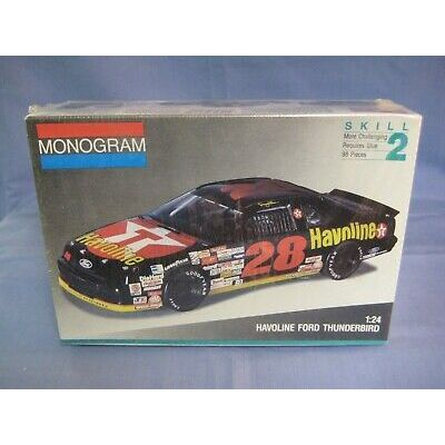 NEW, FACTORY SEALED Monogram Havoline Ford Thunderbird Car Kit #2430 1/24 Scale