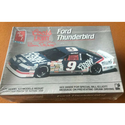 AMT COORS LIGHT FORD THUNDERBIRD 1/25 CCAMI