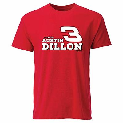 Ouray Sportswear NASCAR Men's Ouray S/S T Austin Dillon, Red, X-Large