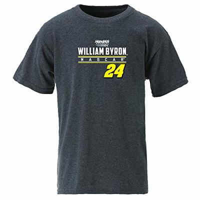 Ouray Sportswear NASCAR Youth Ouray S/S T William Byron, Graphite, Small