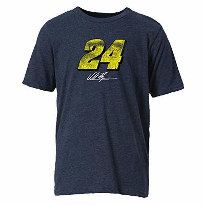 Ouray Sportswear NASCAR Youth Vintage Sheer S/S T William Byron, Midnight Navy, Small