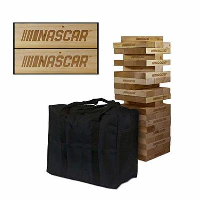 Victory Tailgate NASCAR Wooden Tumble Tower Game