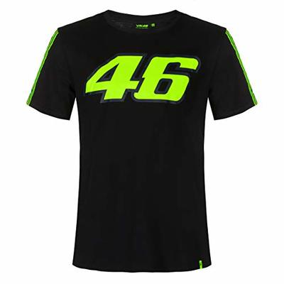 Valentino Rossi T-Shirt VR46 MotoGP The Doctor Black Official 2020