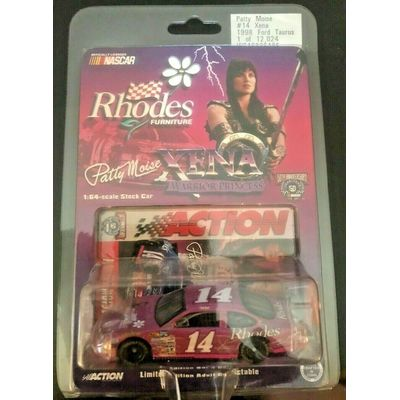 NASCAR Rare XENA PRINCESS PATTY MOISE 1:64 1998 FORD TAURUS*NEW IN PACKAGE!!
