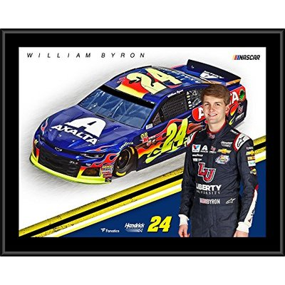 William Byron 12″ x 15″ Axalta Sublimated Player Plaque – NASCAR Driver Plaques and Collages