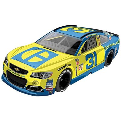 Lionel Racing Ryan Newman #31 Caterpillar Darlington Throwback 2017 Chevrolet SS 1:64 Scale HT Official Diecast of the NASCAR Cup Series.
