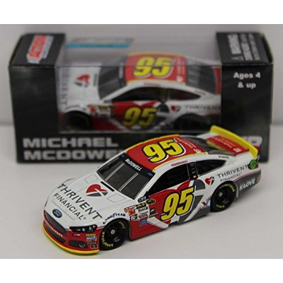 Michael McDowell No. 95 Thrivent Financial 2015 1:64 Scale NASCAR Sprint Cup Series Die-Cast