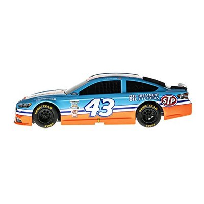Lionel Racing 14453 NASCAR Authentics 2017 Aric Almirola #43 STP Darlington Throwback Lionel Racing Diecast, Blue, Orange, White, Red,; 1: 24 Scale