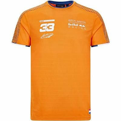 Red Bull Racing F1 Men's Max Verstappen T-Shirt in Orange (XXL)