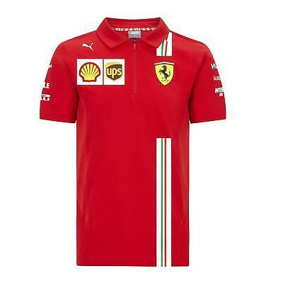 Scuderia Ferrari Men's Puma Replica Team Polo Shirt | 2020