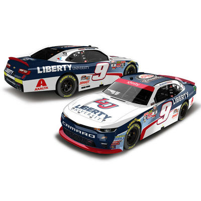 2017 WILLIAM BYRON #9 LIBERTY UNIV XFINITY CHAMPION 1/64 DIECAST FREE SHIP